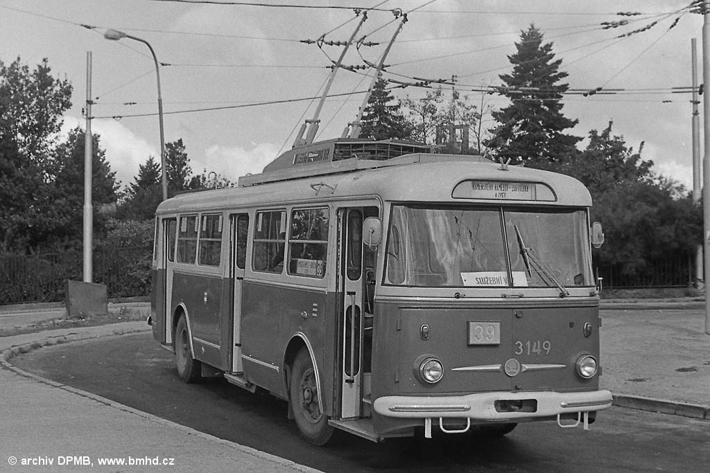 Fotogalerie » Škoda 9TrHT28 3149   Brno   Masarykova čtvrť   Barvičova   Barvičova
