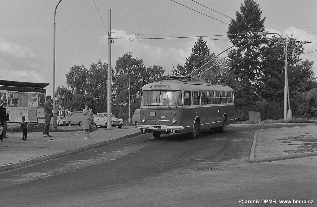 Fotogalerie » Škoda 9TrHT28 3149 | Brno | Masarykova čtvrť | Barvičova | Barvičova