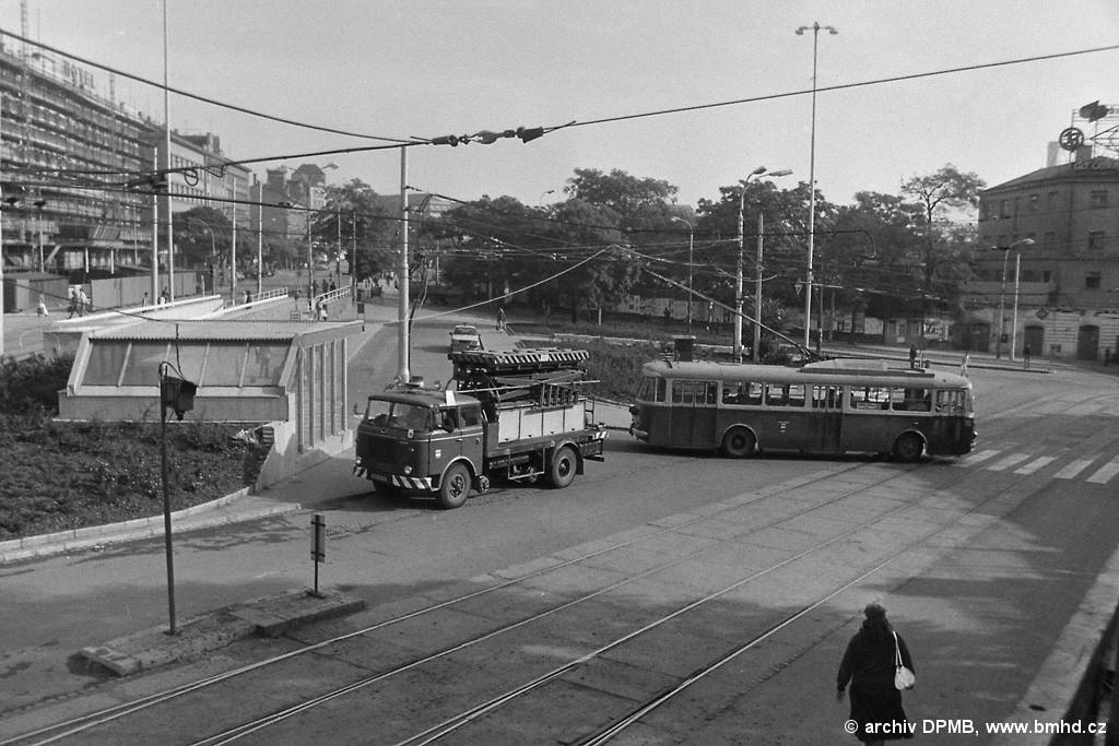 Fotogalerie » Škoda 9Tr -   Brno   střed   Nádražní   Hlavní nádraží