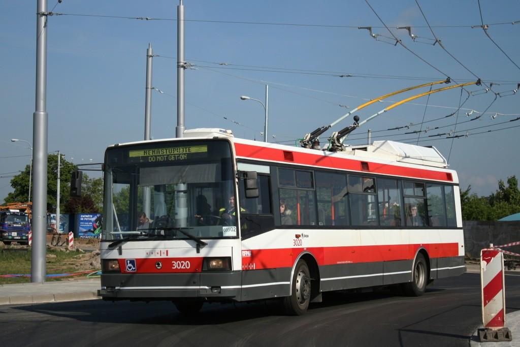 Fotogalerie » Škoda 21Tr 3020 | Brno | Slatina | Olomoucká
