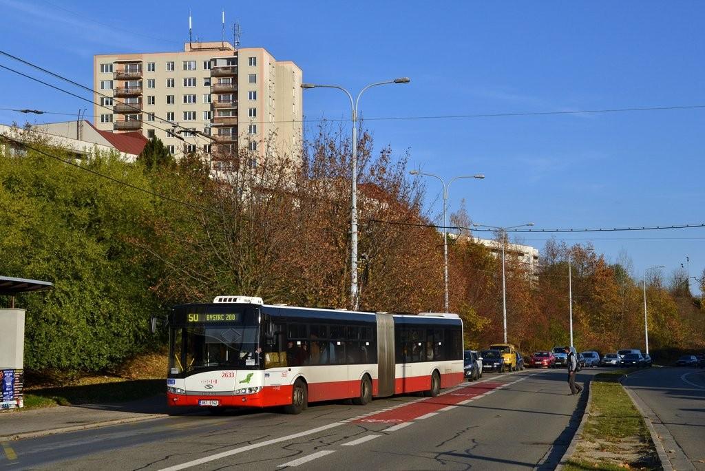 Fotogalerie » Solaris Urbino 18 III 9B7 9142 2633   Brno   Nový Lískovec   Petra Křivky