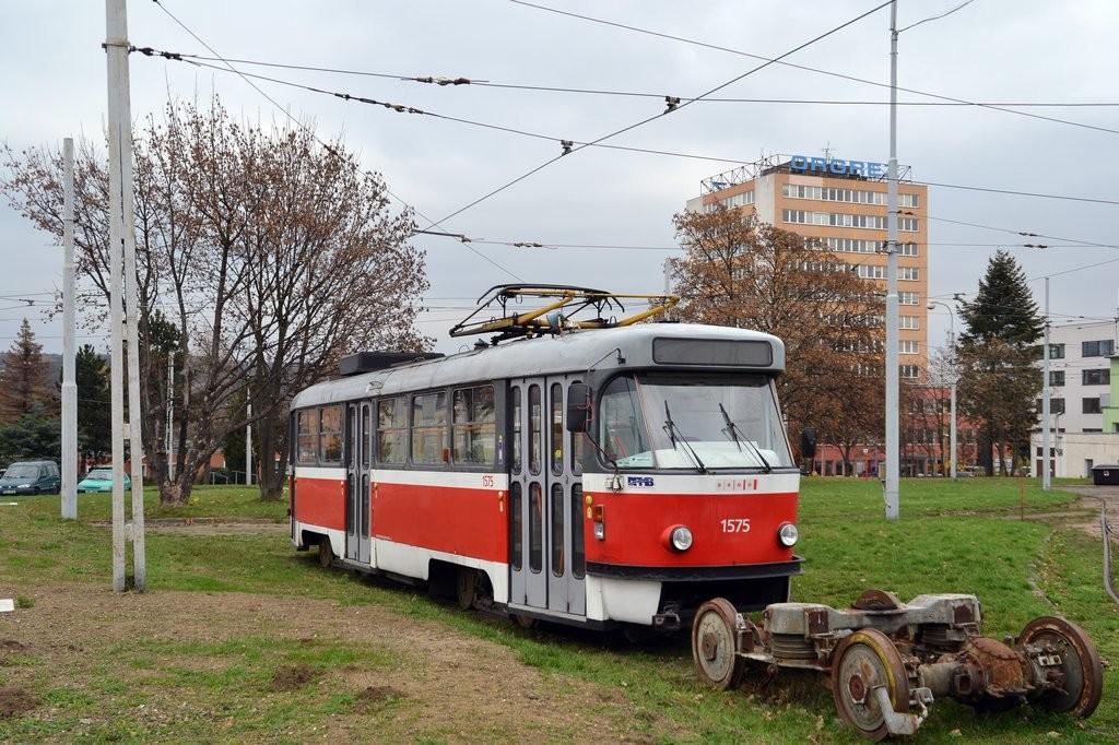Fotogalerie » ČKD Tatra T3M 1575 | Brno | vozovna Medlánky