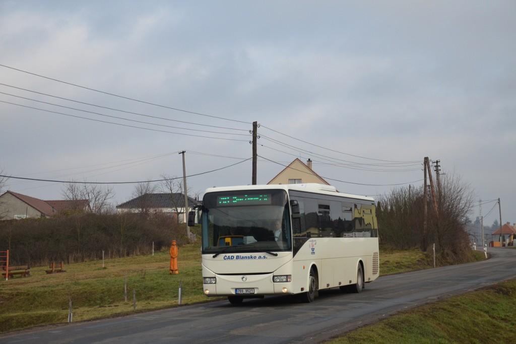 Fotogalerie » Irisbus Crossway 12M 7B9 9521 | Březina