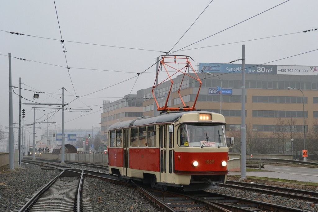 Fotogalerie » ČKD Tatra T3 1525 | Brno | Štýřice | Vídeňská