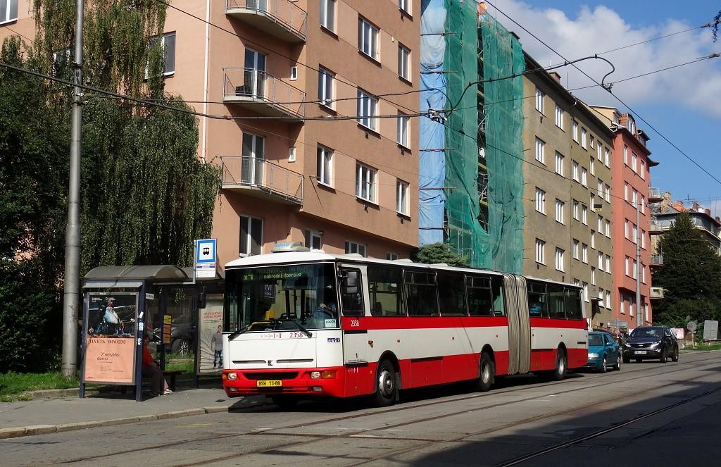 Fotogalerie » Karosa B941E.1962 BSH 13-88 2358 | Brno | Černá Pole | Jugoslávská | Jugoslávská