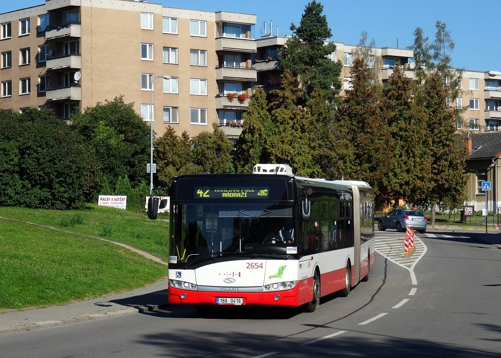 Fotogalerie » Solaris Urbino 18 III 1BA 0416 2654   Brno   Řečkovice   Horácké náměstí