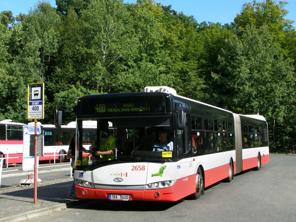 Fotogalerie » Solaris Urbino 18 III 1BA 0420 2658 | Ostrovačice | Ostrovačice, start