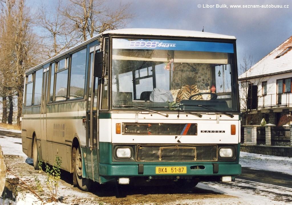 Fotogalerie » Karosa C734.20 BKA 51-87   Černovice