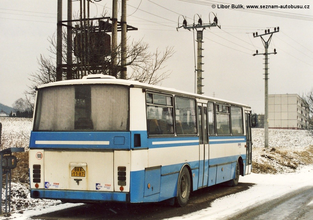 Fotogalerie » Karosa C734.00 BKA 11-87 | Kunštát