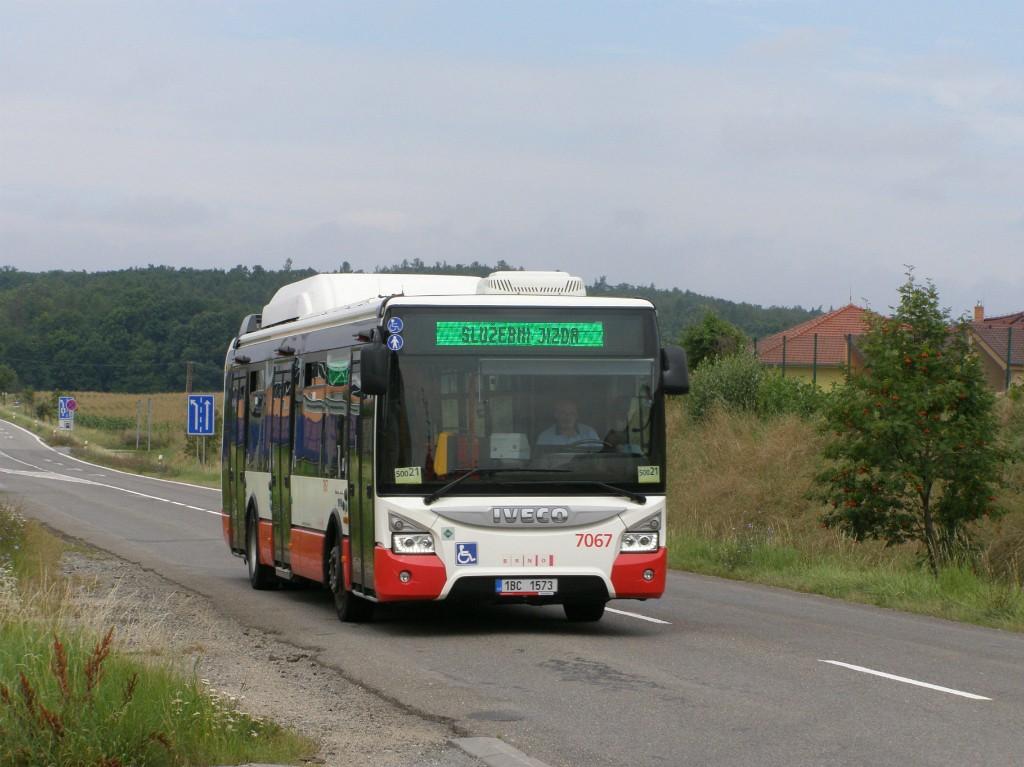 Fotogalerie » Iveco Urbanway 12M CNG 1BC 1573 7067 | Popůvky | Vintrovna