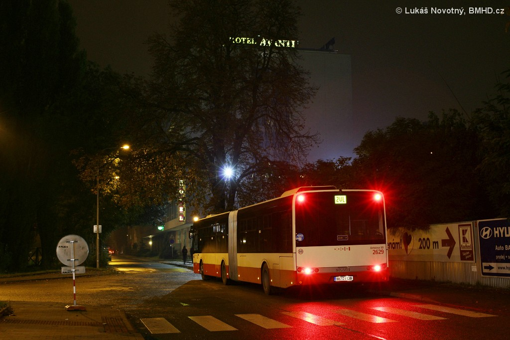 Fotogalerie » Solaris Urbino 18 III 9B7 9138 2629 | Brno | Střední