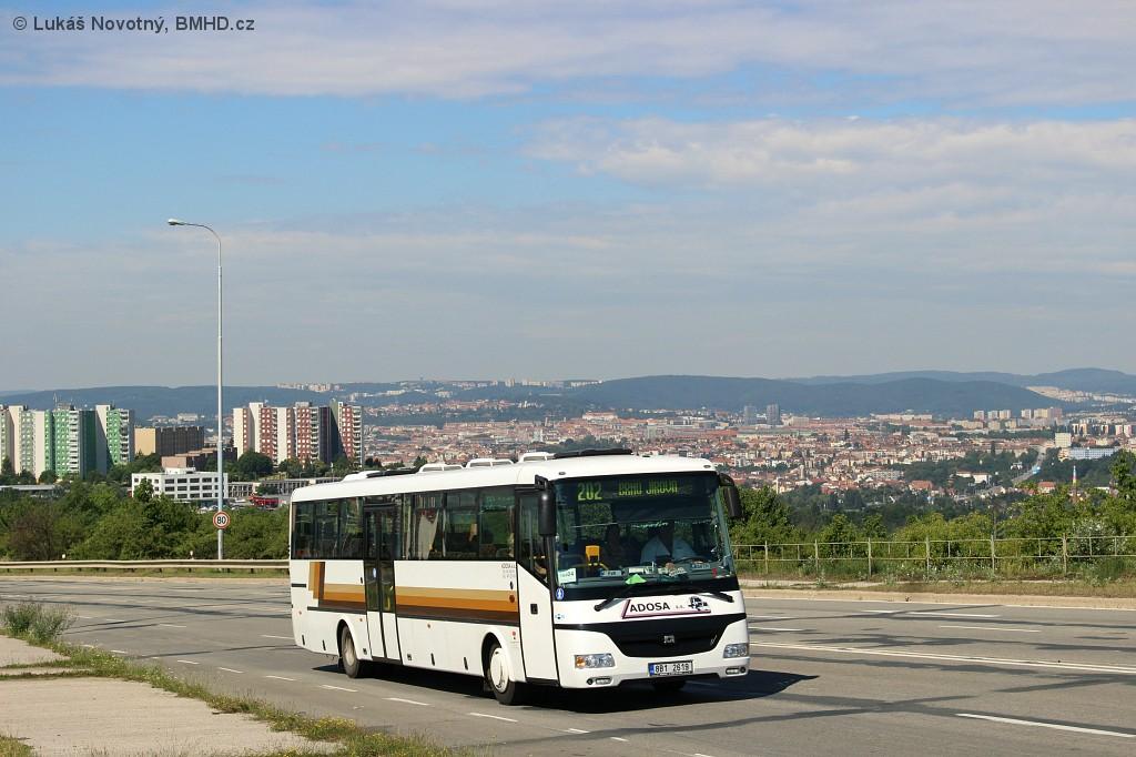 Fotogalerie » SOR C 12 8B1 2619 | Brno | Líšeň | Jedovnická