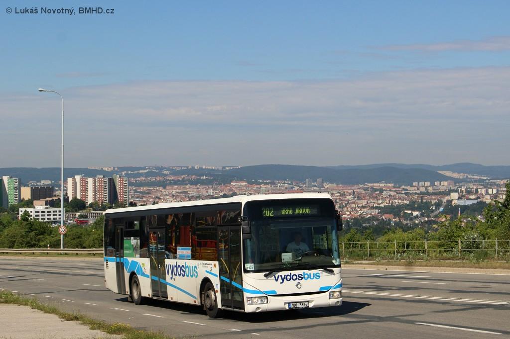 Fotogalerie » Irisbus Crossway LE 12M 7B0 5834 | Brno | Líšeň | Jedovnická