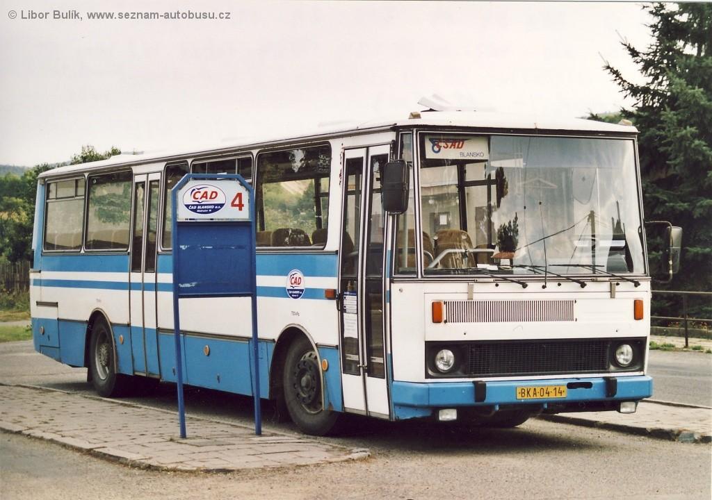 Fotogalerie » Karosa C734.00 BKA 04-14 | Rájec-Jestřebí | Rájec-Jestřebí, žel. st.