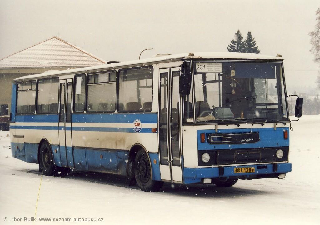 Fotogalerie » Karosa C734.00 BKA 13-84 | Blansko