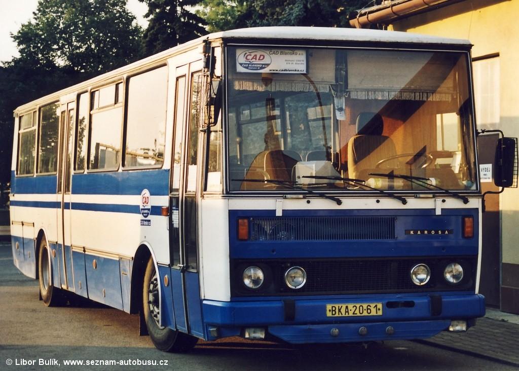 Fotogalerie » Karosa C734.20 BKA 20-61 | Blansko