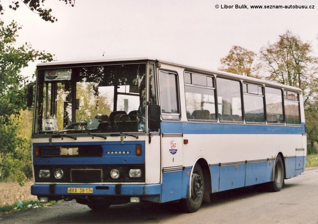 Fotogalerie » Karosa C734.1340 BKA 38-17 | Olomučany