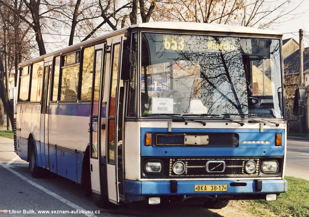 Fotogalerie » Karosa C734.1340 BKA 38-17 | Svitavy