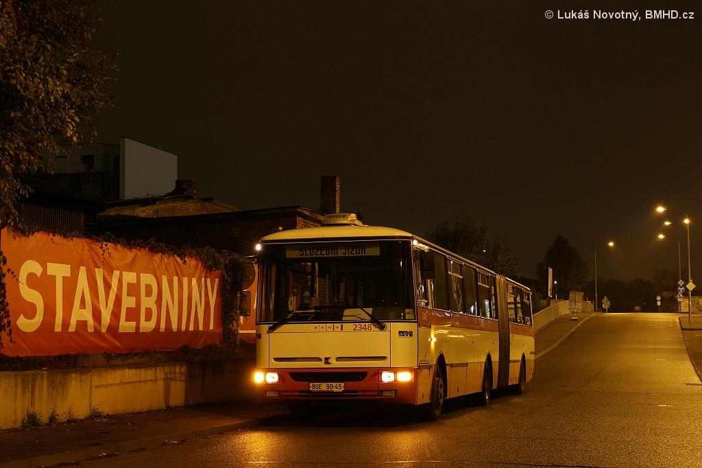 Fotogalerie » Karosa B941E.1962 BSE 90-45 2348 | Brno | Střední