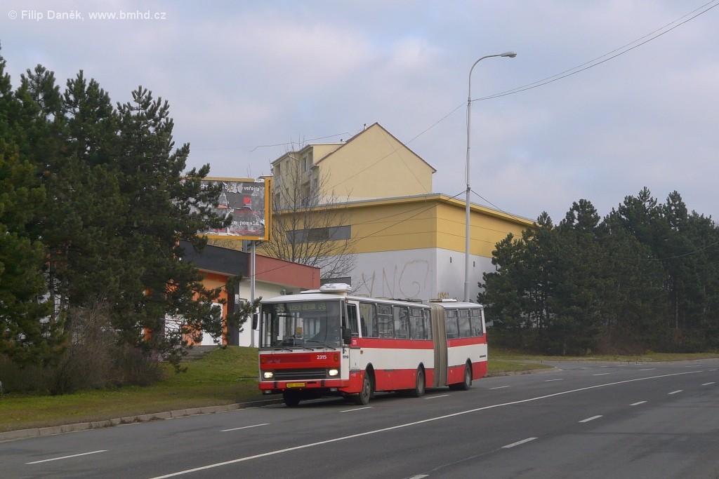 Fotogalerie » Karosa B741.1924 BSC 62-04 2315 | Brno | Líšeň | Novolíšeňská