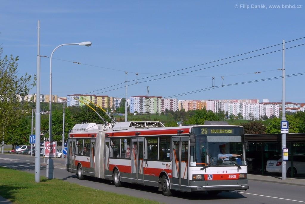 Fotogalerie » Škoda 22Tr 3608 | Brno | Vinohrady | Bzenecká