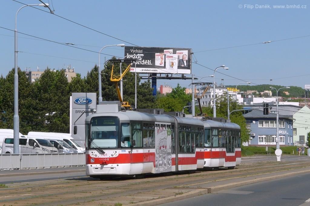 Fotogalerie » Pragoimex VarioLF2R.E 1101 | Pragoimex VarioLFR.E 1601 | Brno | Medlánky | Palackého třída