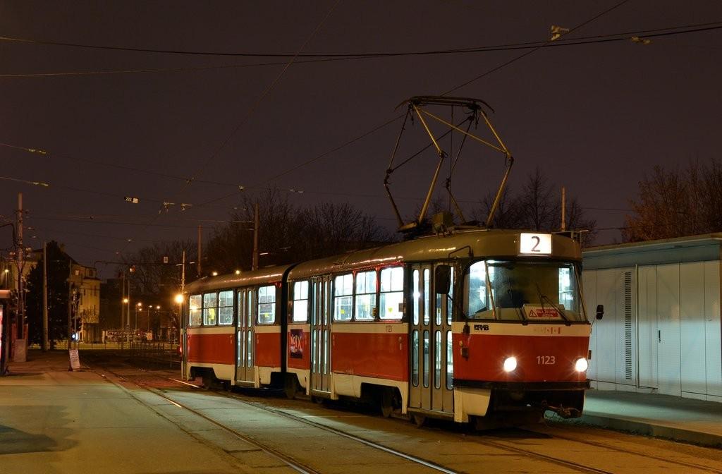 Fotogalerie » ČKD Tatra K2 1123 | Brno | Židenice | Stará Osada