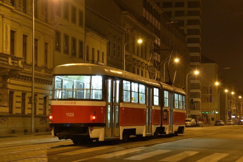 Fotogalerie » ČKD Tatra K2 1123 | Brno | střed | Lidická