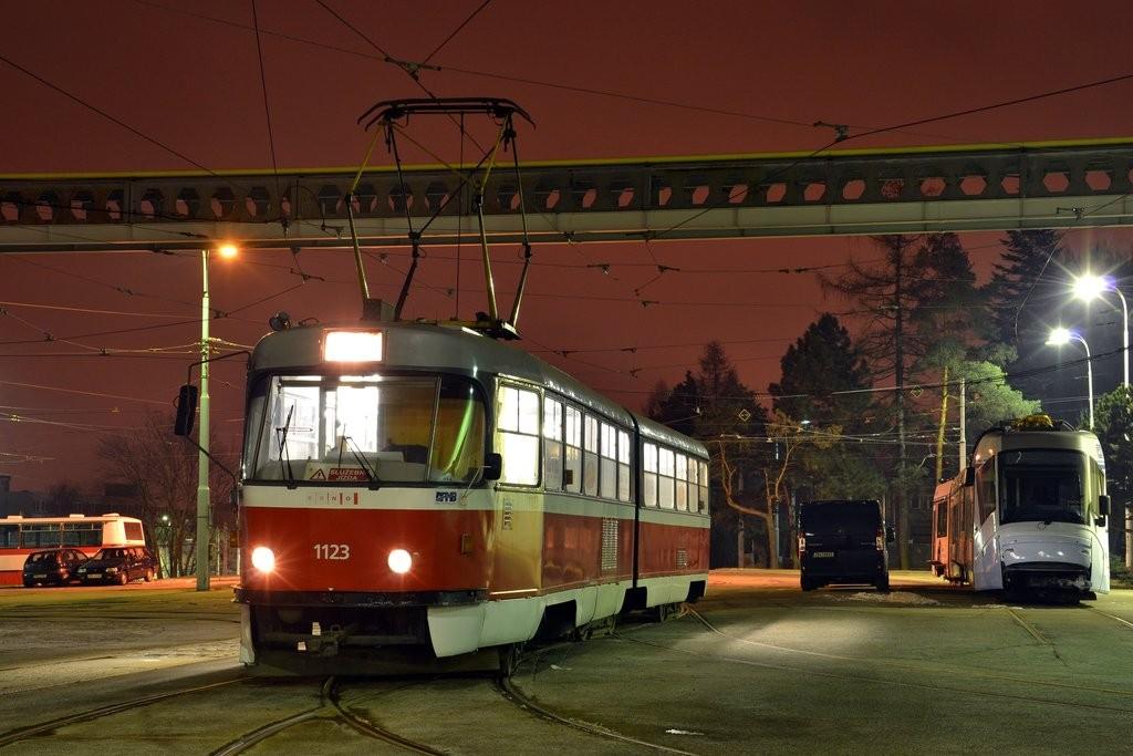 Fotogalerie » ČKD Tatra K2 1123 | Brno | vozovna Medlánky