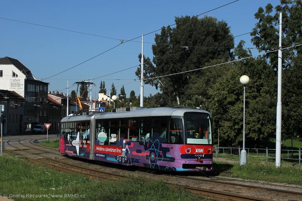 Fotogalerie » Pragoimex VarioLF2R.E 1072   Brno   Židenice   Bubeníčkova