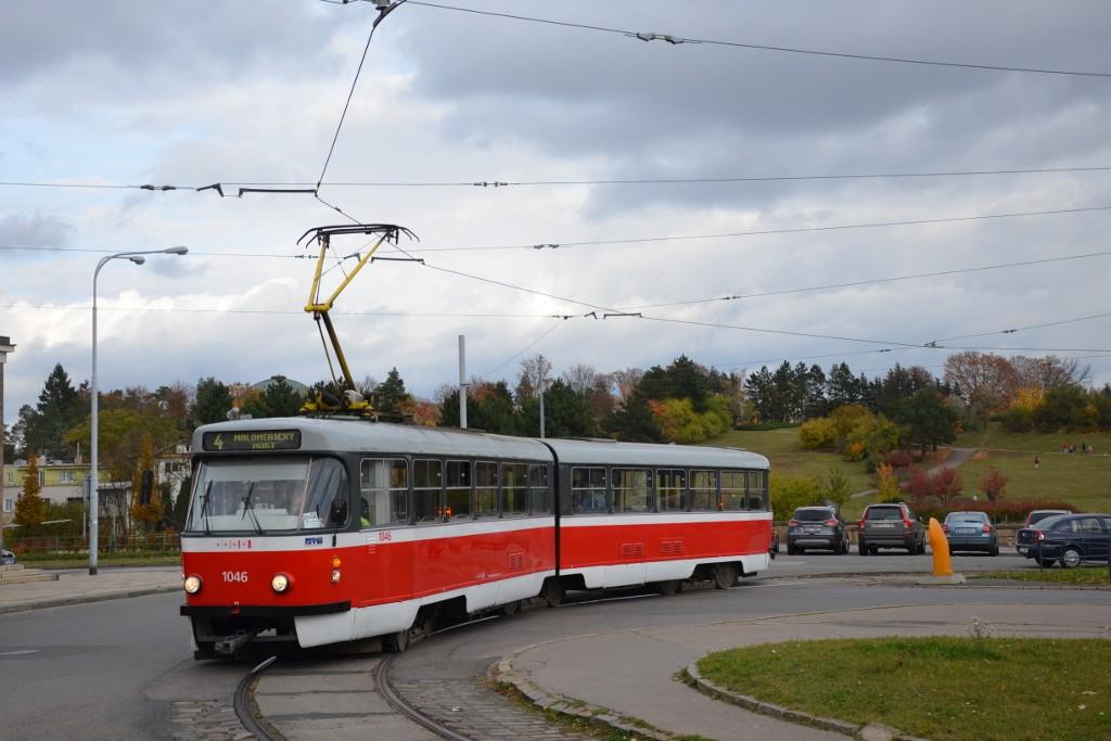Fotogalerie » ČKD Tatra K2P 1046 | Brno | Stránice | náměstí Míru | náměstí Míru
