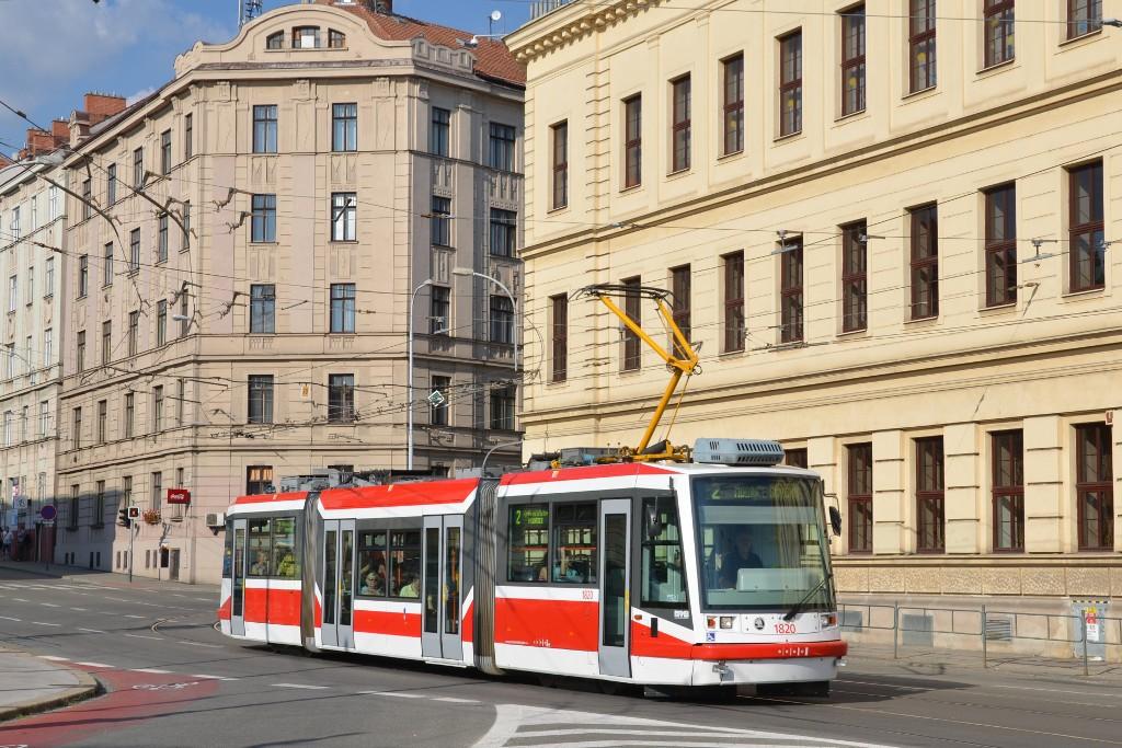 Fotogalerie » Škoda 03T7 1820 | Brno | střed | Mendlovo náměstí