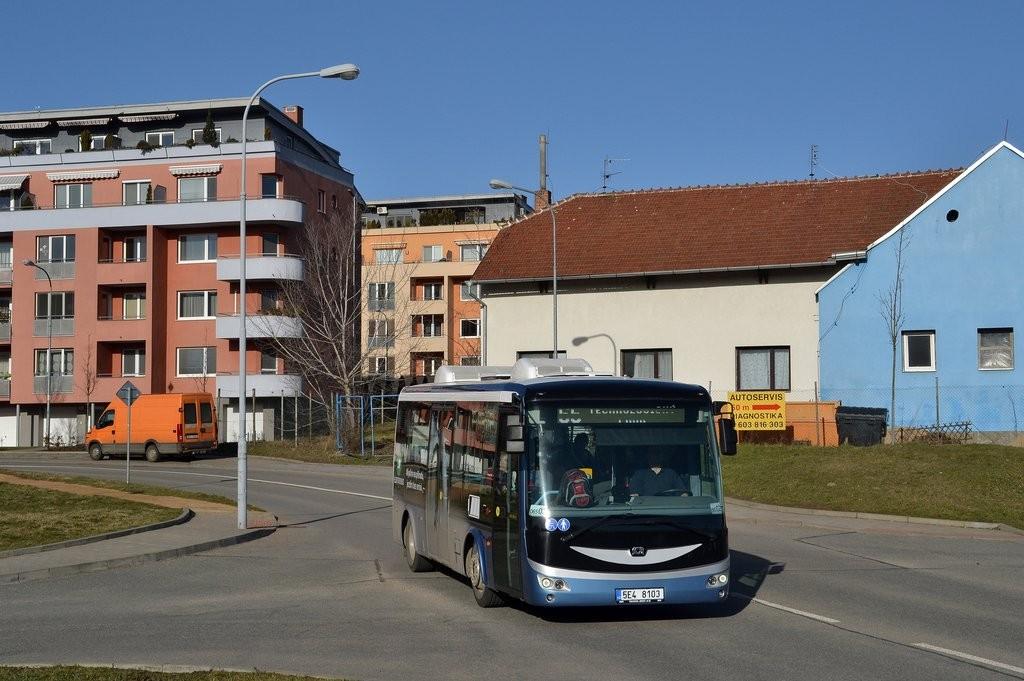 Fotogalerie » SOR EBN 8 5E4 8103 2717 | Brno | Medlánky | V Újezdech