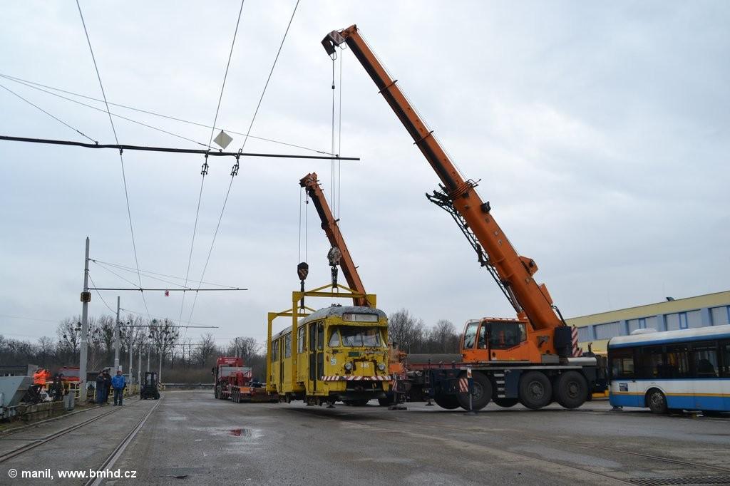 Fotogalerie » Tatra T2R 685   Ostrava   Martinov   ústřední dílny