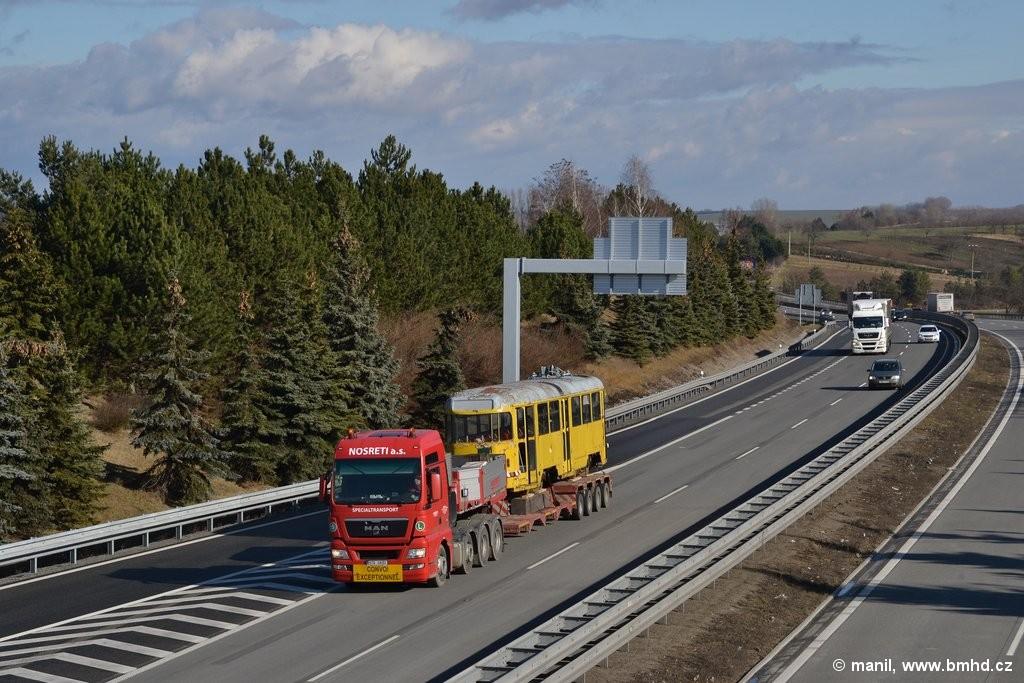 Fotogalerie » Tatra T2R 685   Rousínov   D1, Exit 216 km