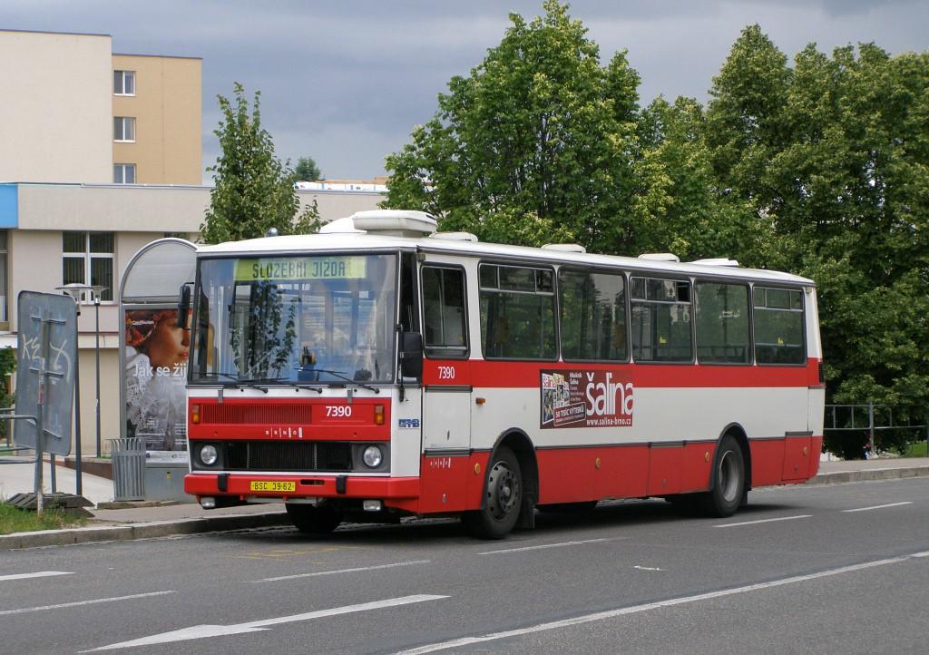 Fotogalerie » Karosa B732.1654.3 BSC 39-62 7390 | Brno | Bohunice | Dlouhá | Běloruská