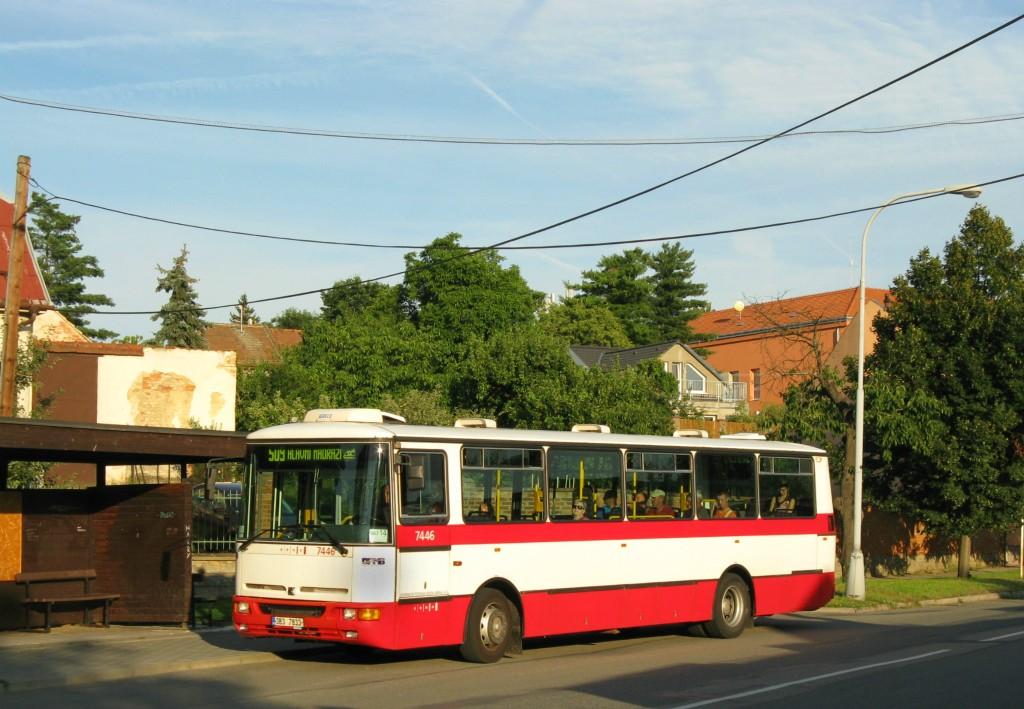 Fotogalerie » Karosa B931E.1707 3B3 7833 7446 | Brno | Chrlice | Chrlické náměstí