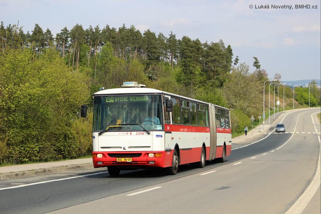 Fotogalerie » Karosa B941E.1962 BSE 90-45 2348 | Brno | Bystrc | Vejrostova | Ruda