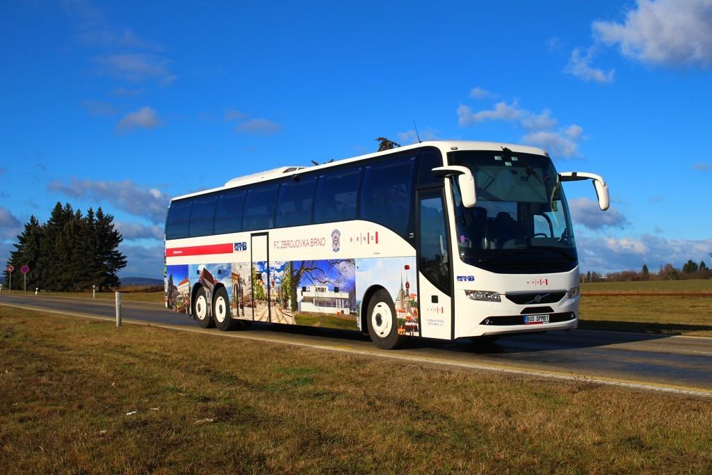 Fotogalerie » Volvo Volvo 9700/B6SC BUS DPMB1 2901 | Brno | Tuřany | Evropská
