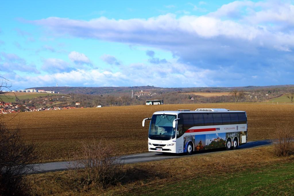 Fotogalerie » Volvo Volvo 9700/B6SC BUS DPMB1 2901 | Bedřichovice | odbočka k Žuráni