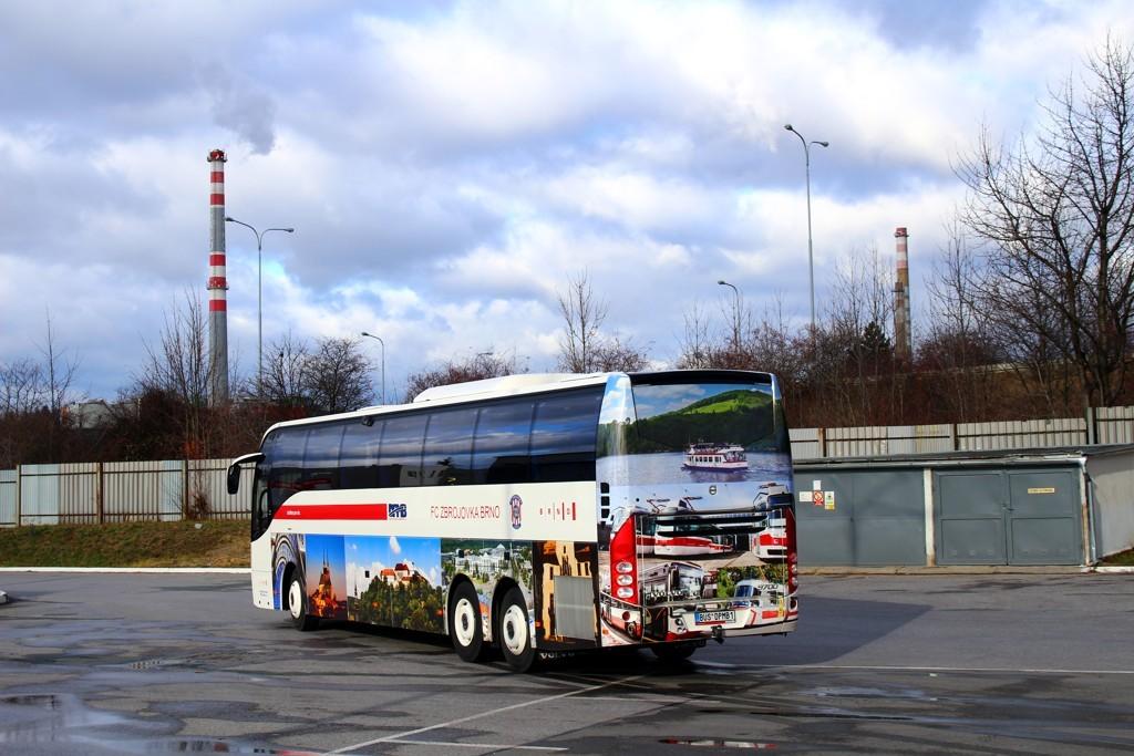 Fotogalerie » Volvo Volvo 9700/B6SC BUS DPMB1 2901 | Brno | Slatina | Hviezdoslavova | Vozovna Slatina