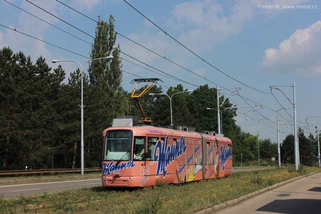 Fotogalerie » Pragoimex VarioLF2R.E 1112 | Brno | Černá Pole | třída Generála Píky