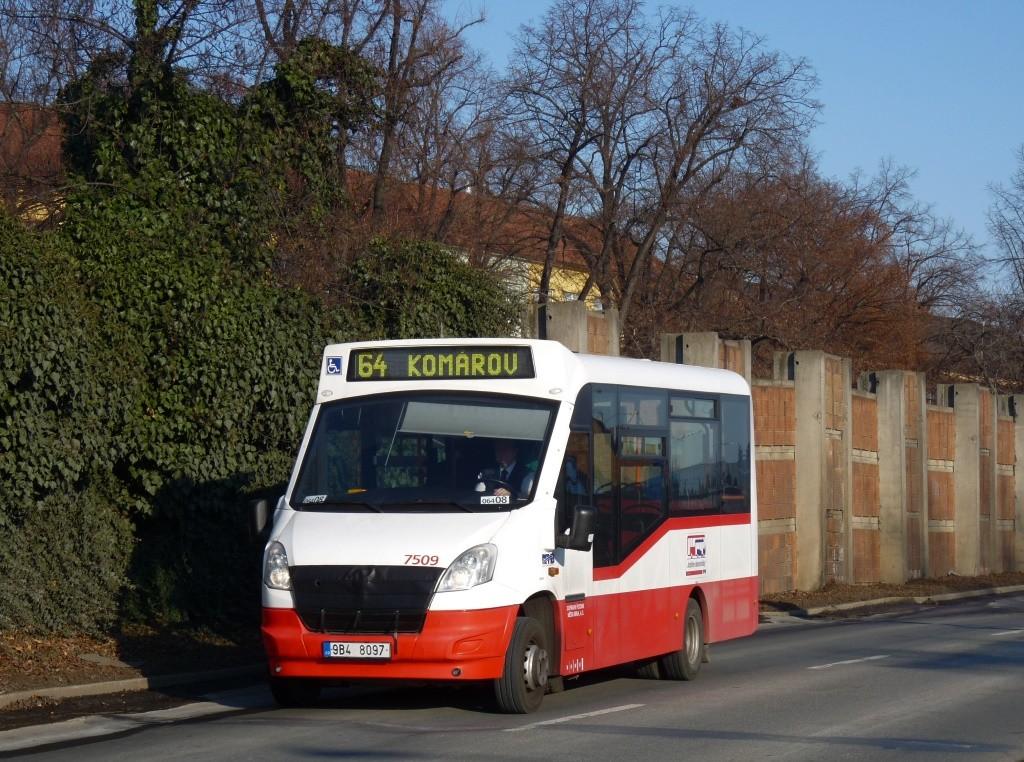 Fotogalerie » SKD Iveco Stratos LF 38 D 9B4 8097 7509 | Brno | Komárov | Černovická