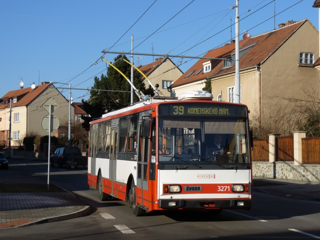 Fotogalerie » Škoda 14TrR 3271 | Brno | Masarykova čtvrť | Barvičova