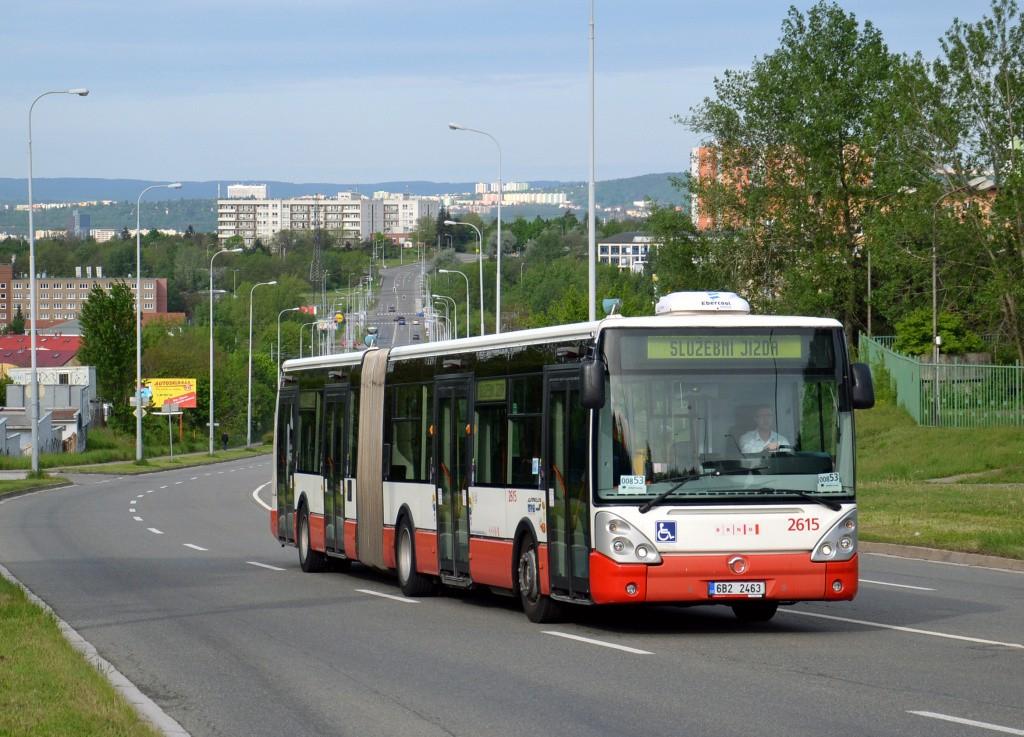 Fotogalerie » Irisbus Citelis 18M 6B2 2463 2615   Brno   Líšeň   Novolíšeňská