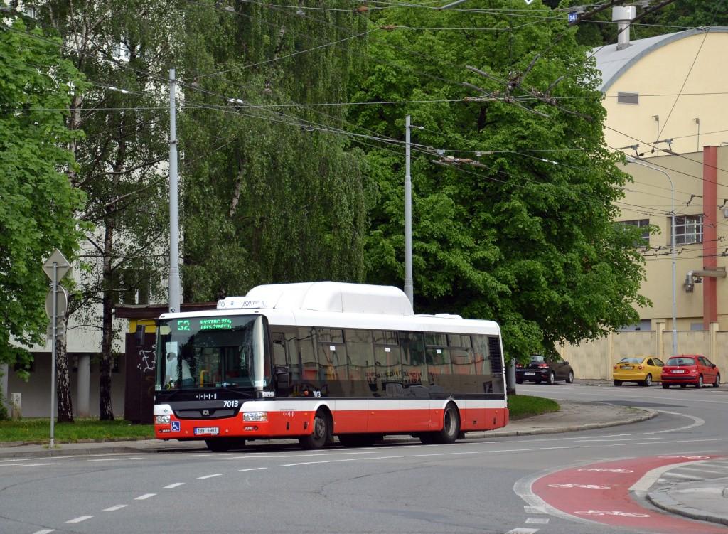 Fotogalerie » SOR NBG 12 1BB 6901 7013   Brno   Staré Brno   Mendlovo náměstí   Mendlovo náměstí