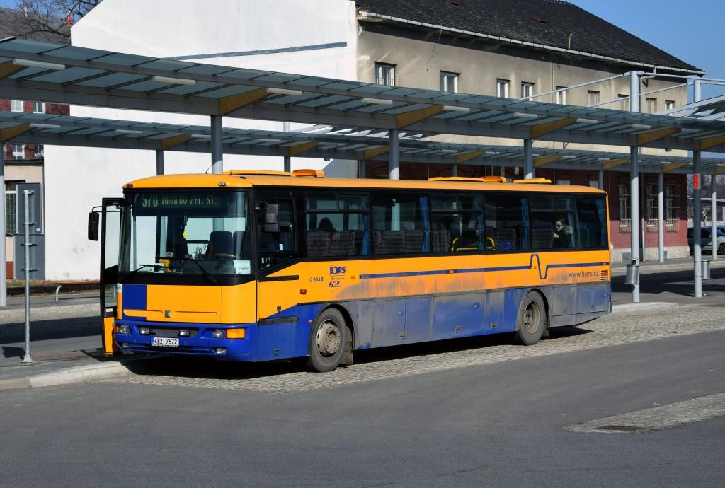 Fotogalerie » Karosa C954E.1360 4B2 7572 | Břeclav | sady 28. října | Železniční stanice