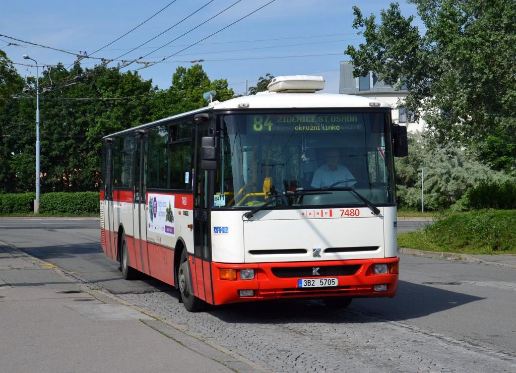 Fotogalerie » Karosa B951E.1713 3B2 5705 7480 | Brno | Židenice | Stará Osada | Stará Osada