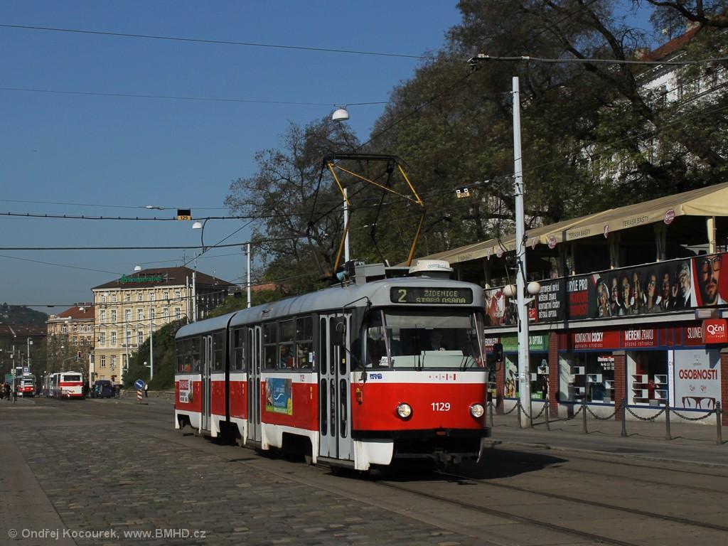 Fotogalerie » ČKD Tatra K2 1129 | Brno | střed | Nádražní