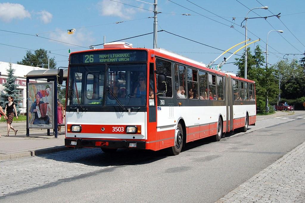 Fotogalerie » Škoda 15TrM 3503 | Brno | Židenice | Svatoplukova | Stará Osada